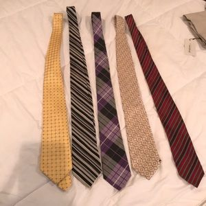 Men ties 5 for $16!!